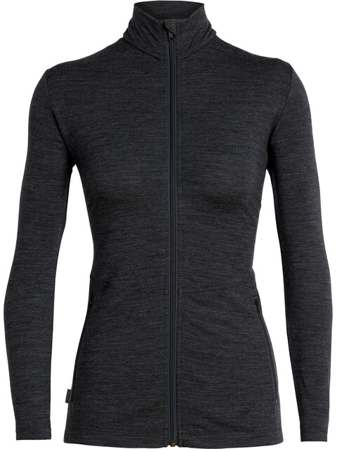 Icebreaker Victory LS Zip Jacket Women jet heather